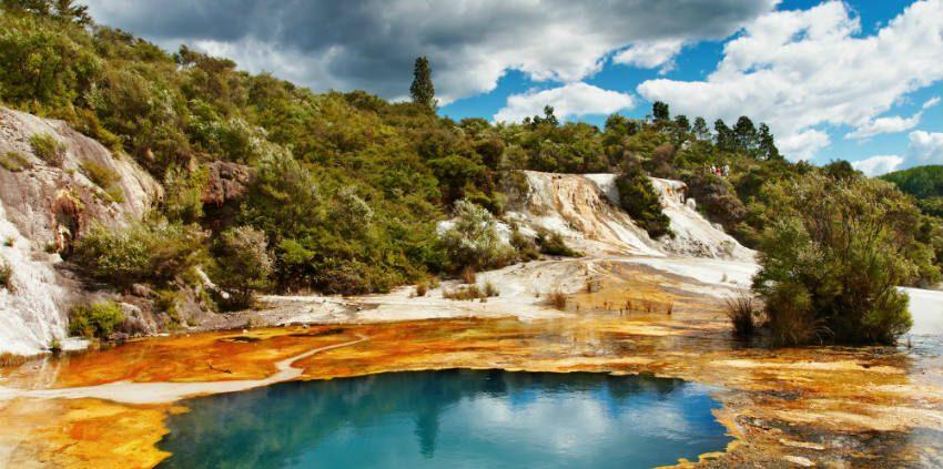 Rotorua volcanic valley