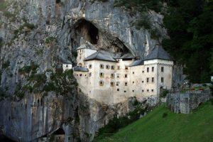 Predjama Castle in Postojna Cave Slovenia