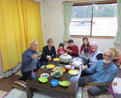 אירוח בבית משפחה יפנית מסורתית אירוע תרבותי חוותי ממדרגה ראשונה
