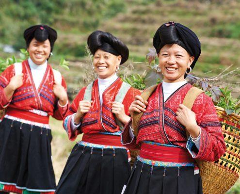 סין בדגש שבטים ותרבויות 18 ימים