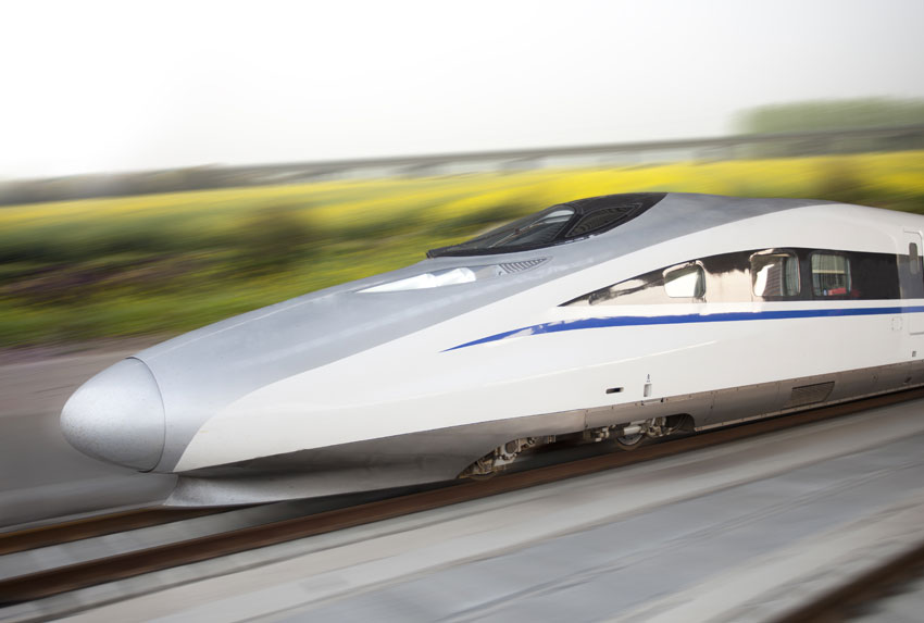 """נסיעה ברכבת """"הבולט הסינית"""" לבייג'ינג"""