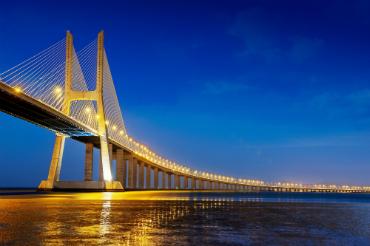 גשר ואסקו דה גאמה - הגדול ביותר באירופה