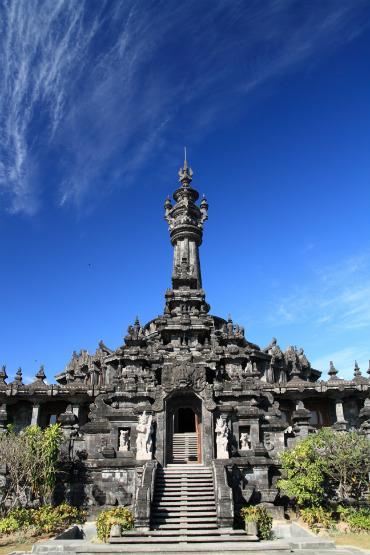 ארכיטקטורה ייחודית באינדונזיה