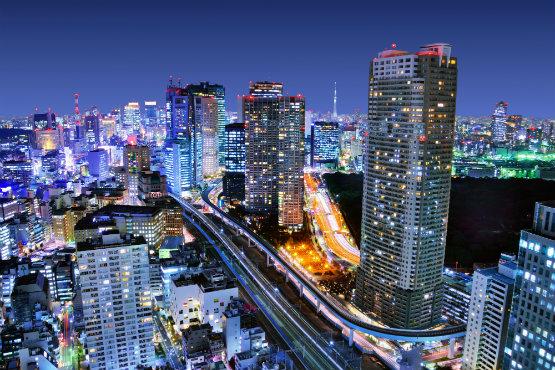 טוקיו העתידנית