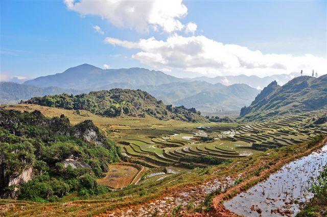 טראסות האורז בטיול מאורגן לויאטנם וקמבודיה עם נוה אקדמיה