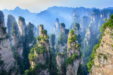 הנופים המדהימים של ז'אנגג'יאג'י