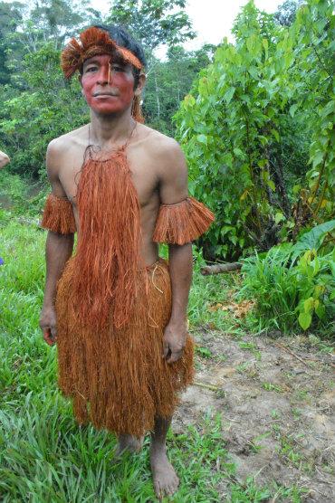 איש משבטי האמאזונאס