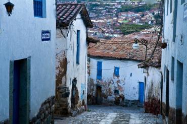ברחובות הצרים של דרום אמריקה
