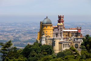 palace of Pena in Sintra