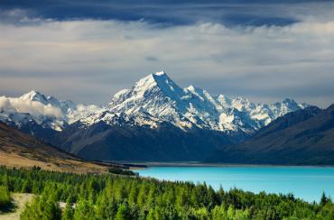 מראות מרהיבים בניו זילנד