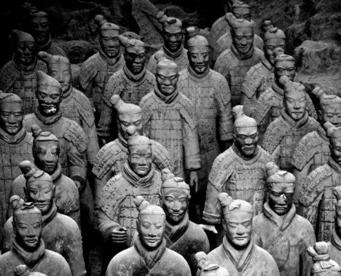 סין סצ'ואן - חיילי הטרה קוטה