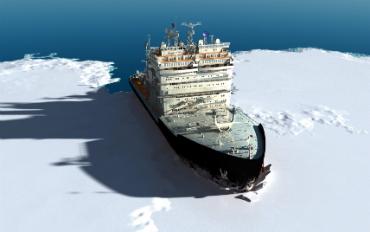 """שייט בשוברת הקרח """"סמפו"""" - חוויה חד פעמית!"""