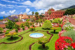 הגן הבוטני טרופי יפה בעיר אורוטבה