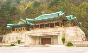 International Friendship Exhibition a large museum complex located at Myohyang-san mountain North Korea