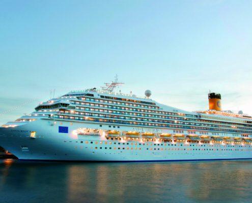 שייט מאורגן עם נוה אקדמיה - ספינת הפאר קוסטה מגיקה 1