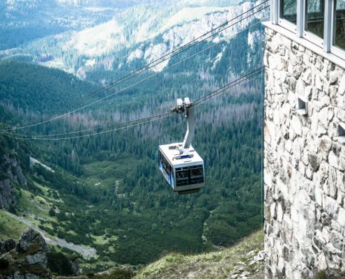 Cable car from Zakopane