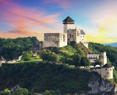 Castle Trencin Slovakia