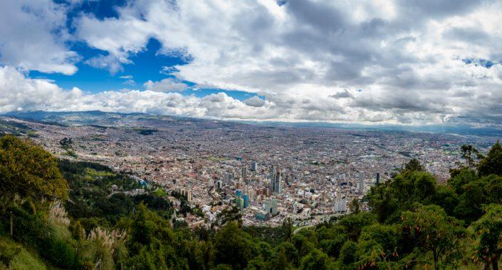 Bogota city Colombia