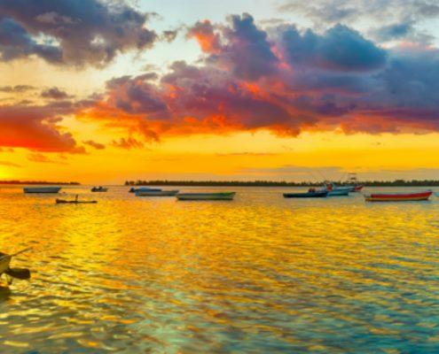 שייט באוקיינוס ההודי לכיוון איי סיישל הממוקמים מצפון מזרח לאי מדגסקר
