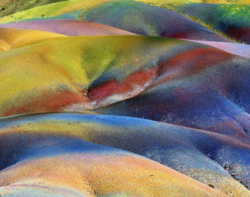 """מאוריציוס - אדמת """"שבע הצבעים"""""""