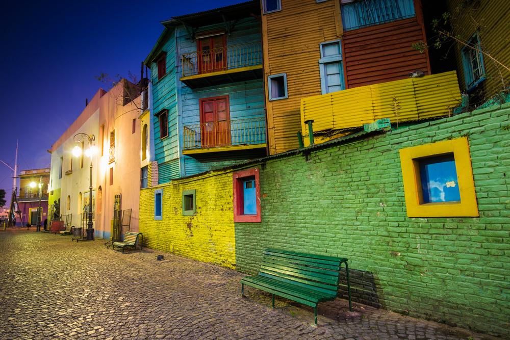Caminito de La Boca Buenos Aires