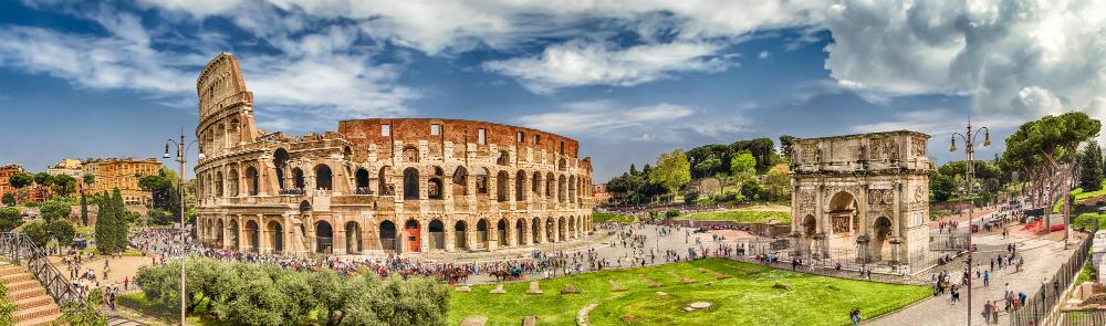"""""""פורום רומאנו"""", שער טיטוס והקולוסאום המוכר - נוה אקדמיה"""
