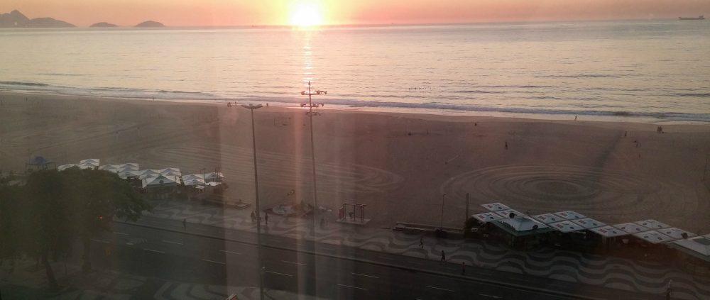 חוף קופהקבאנה עם זריחה